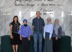 Visit from University of Michigan-Flint, USA